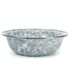 GOLDEN RABBIT Grey Swirl Serving Basin