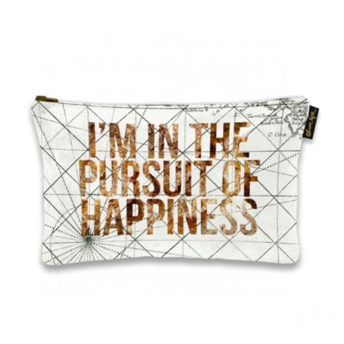 OLIVER GAL ARTIST 9x6 Pursuit of Happiness Pouch