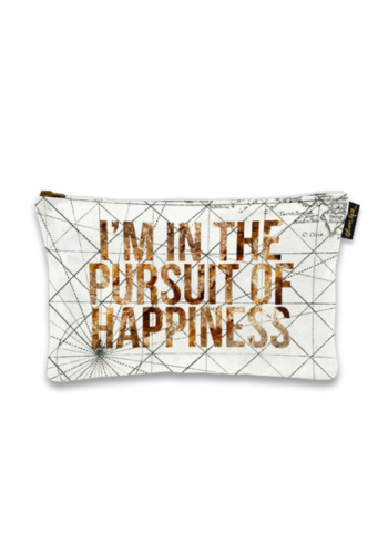 OLIVER GAL ARTIST 13x9 Pursuit of Happiness Pouch