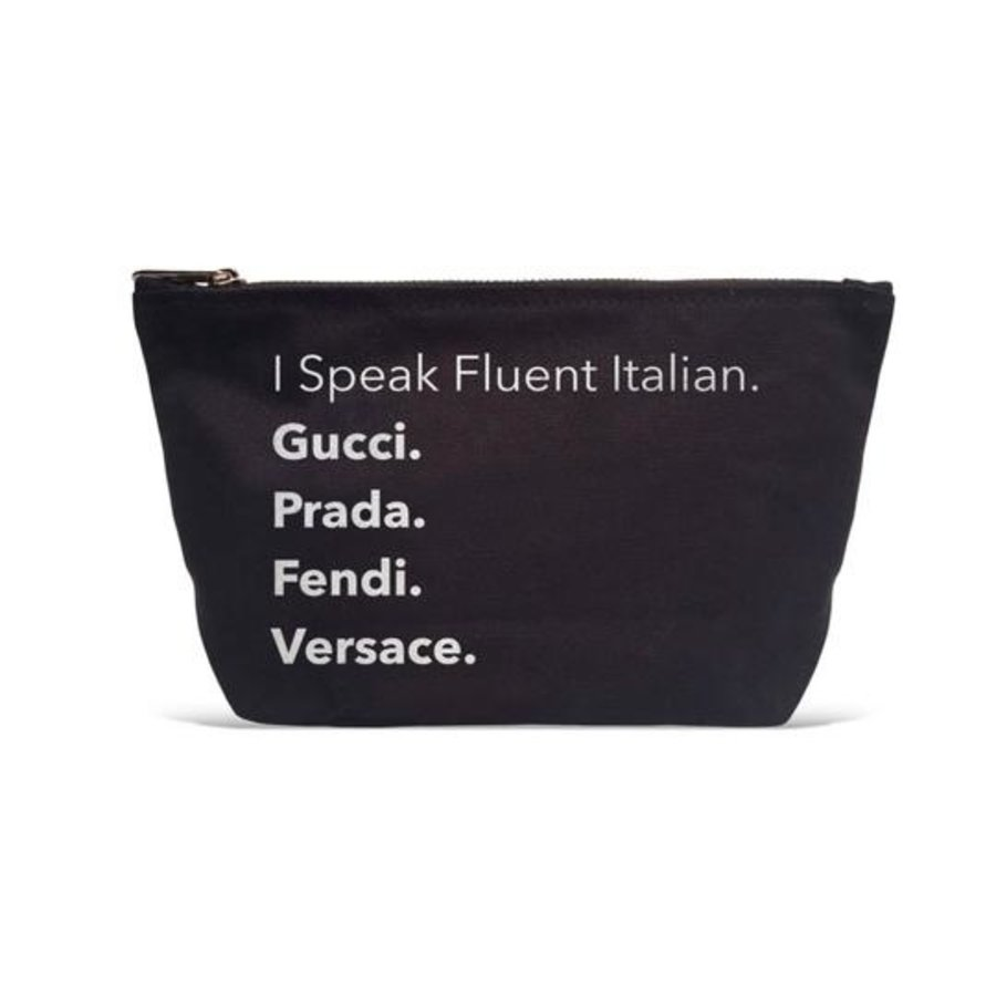 I Speak Fluent Italian Pouch