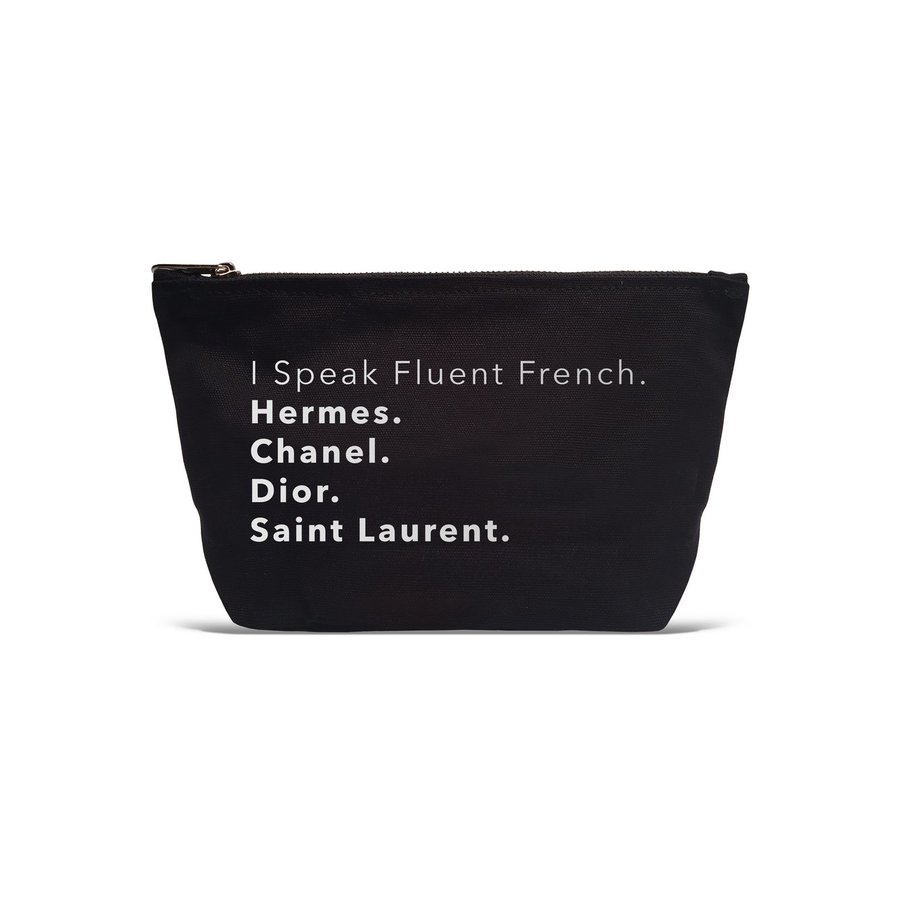 I Speak Fluent French Pouch
