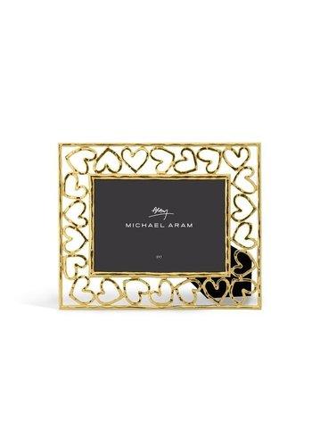 MICHAEL ARAM Gold Heart Frame 5x7