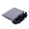 8 OAK LANE/SHADE CRITTERS Navy Throw