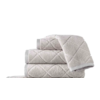 PEACOCK ALLEY Nantucket Hand Towel - Flint
