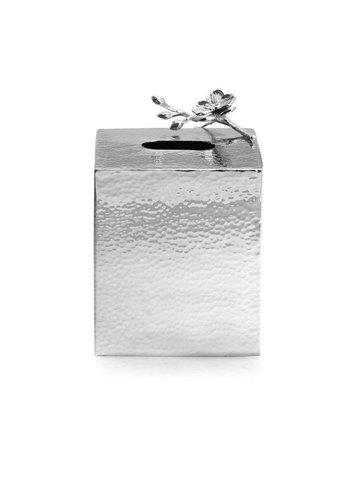 MICHAEL ARAM WHITE ORCHID TISSUE BOX HOLDER / 111852