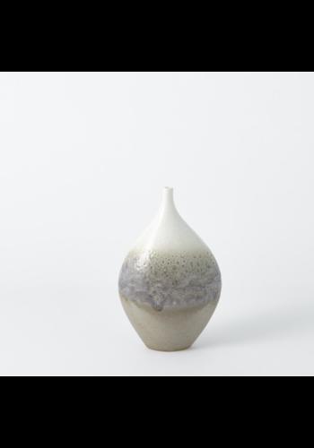 GLOBAL VIEWS Cream Rises Vase