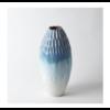 GLOBAL VIEWS Cut Carved Vase - Cloud, Large