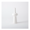 GLOBAL VIEWS Lunar Vase - Matte White, Medium