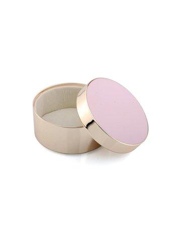 ADDISON ROSS Pink & Gold Trinket Box