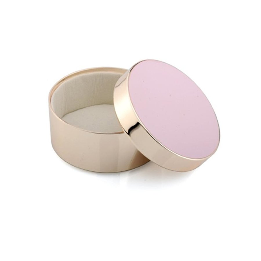 Pink & Gold Trinket Box
