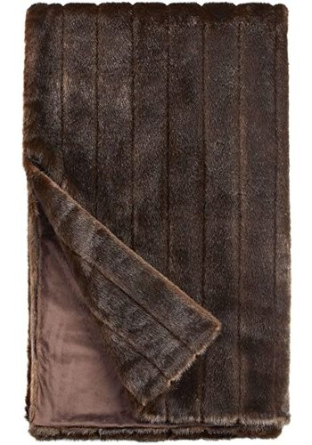 FABULOUS FURS Signature Series Throw - Sable