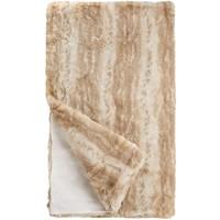 Blonde Mink Faux Fur Throw (60x60 in)