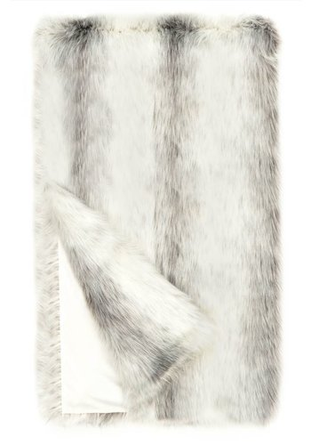 FABULOUS FURS Icelandic Fox Faux Fur Throw