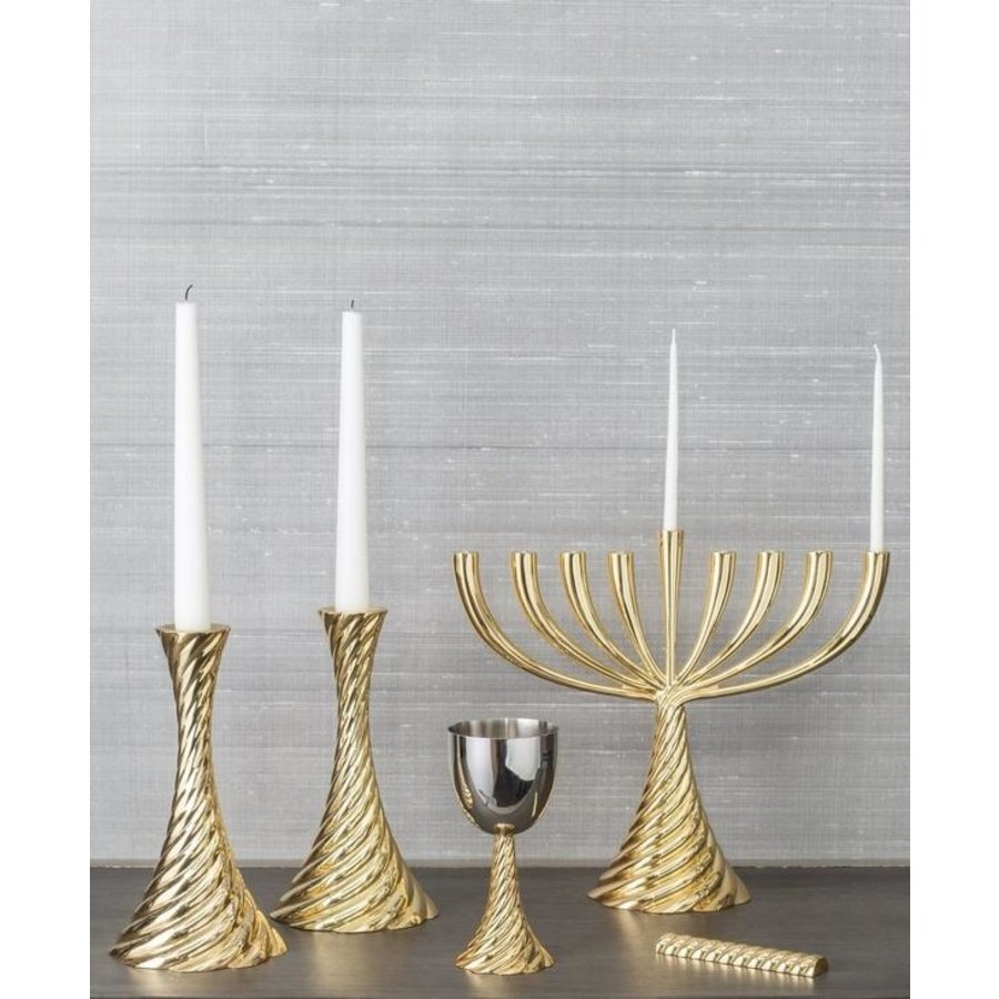 Twist Gold Mezuzah