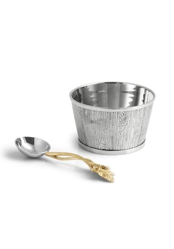 MICHAEL ARAM Ivy & Oak Nut Dish w/ Spoon
