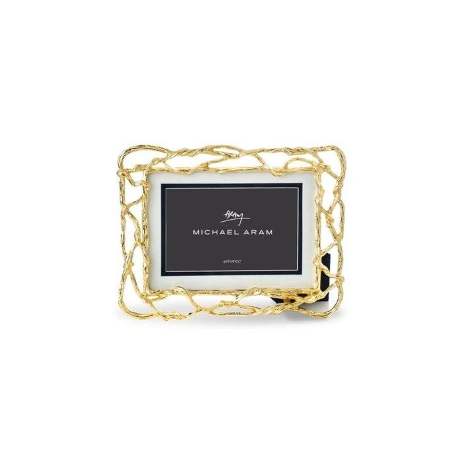 Wisteria Gold Frame 4x6