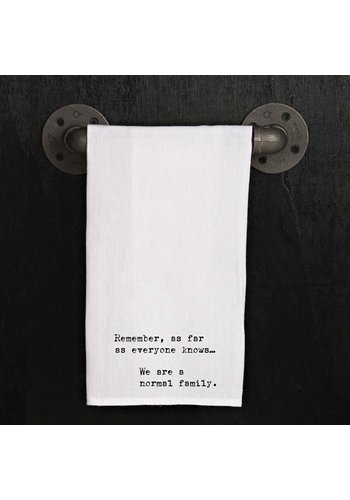 SECOND NATURE BY HAND Kitchen Towel - normal family