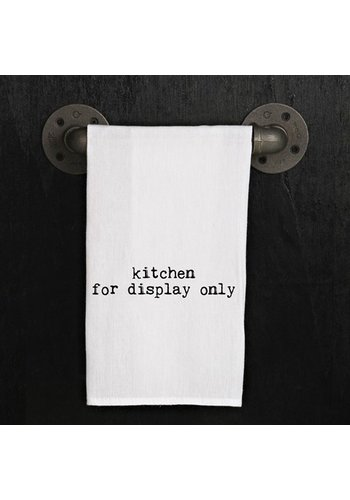 SECOND NATURE BY HAND Kitchen Towel - Kitchen for display