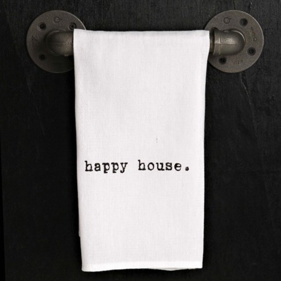Kitchen Towel - Happy House