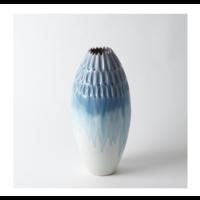 Cut Carved Vase - Cloud, Large