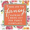 DESIGN DESIGN Cocktail Napkin - Fancy Napkins for Fancy Company