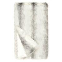 Icelandic Fox Faux Fur Throw