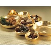 Cluster of Nine Gold Serving Bowls