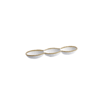 3 Section Serving Piece
