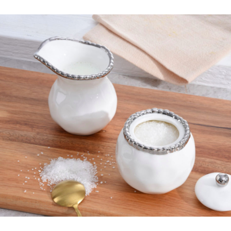 Small Creamer & Sugar Set