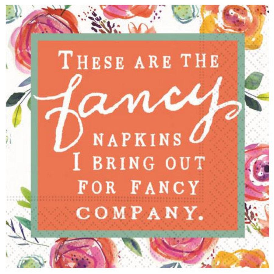 Cocktail Napkin - Fancy Napkins for Fancy Company