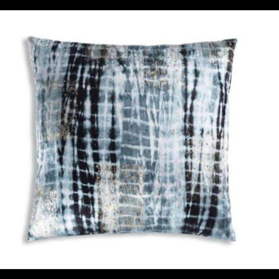 Boheme Navy Velvet Pillow