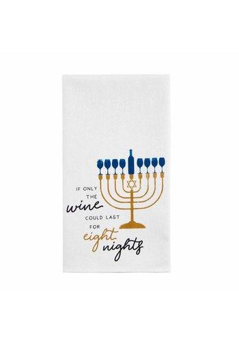 MUD PIE Eight Night Hanukkah Towel