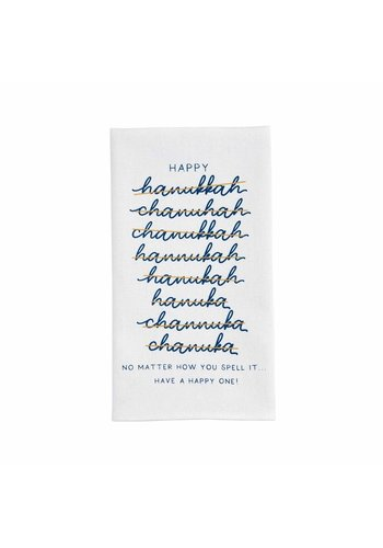 MUD PIE Spell Hanukkah Towel