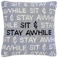 Sit & Stay Awhile Pillow