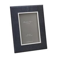 Dark Green Shagreen Frame