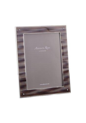 ADDISON ROSS Faux Grey Horn Frame 5x7