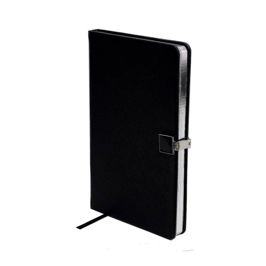Black & Silver A5 Notebook