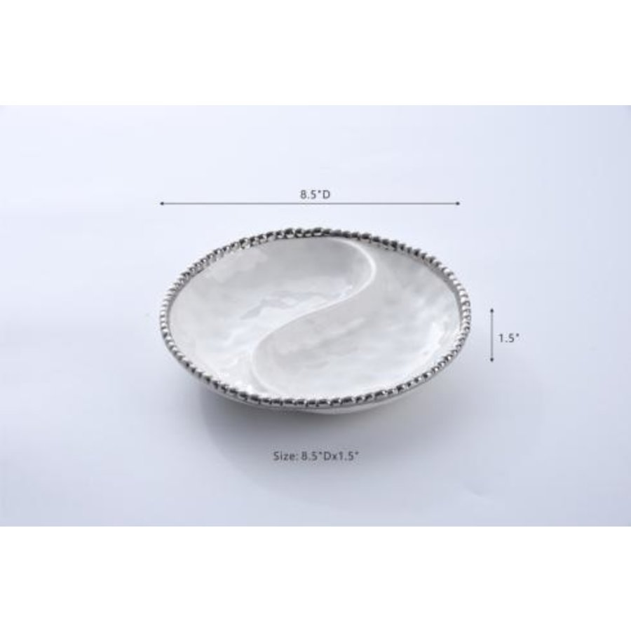 Small 2 Section Platter