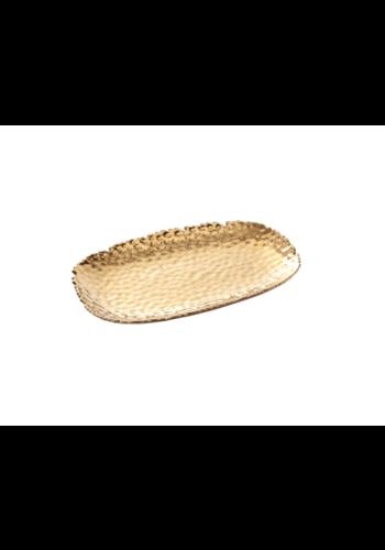 PAMPA BAY Gold Serving Platter