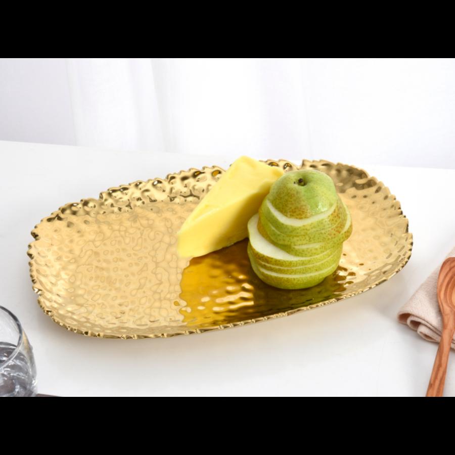 Gold Serving Platter