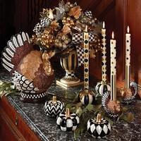 Dot & Stripe Dinner Candles - Regency