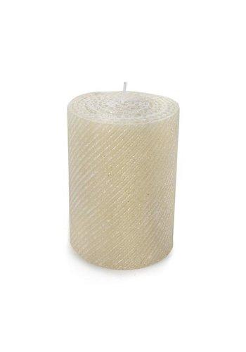 MACKENZIE CHILDS Shimmer Pillar Candle