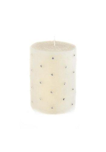 MACKENZIE CHILDS Sparkle Pillar Candle