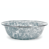 Grey Swirl Serving Basin