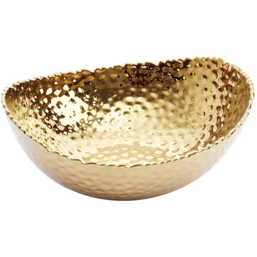Golden Milennium Large Oval Bowl