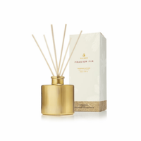 Frasier Fir Reed Diffuser Petite Gold - 4 oz