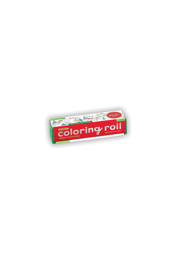 CHRONICLE BOOKS Merry Christmas Mini Coloring Roll