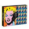 CHRONICLE BOOKS Warhol Marilyn 500 Piece Double Sided Puzzle