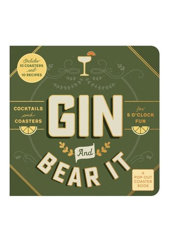 CHRONICLE BOOKS Gin and Bear It Coaster Board Book