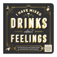 Mixed Drinks About Feelings Coaster Book
